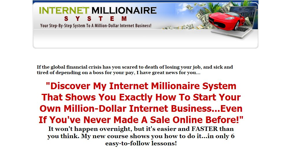 chrome 7. 5. 2016 , 10:33:47 Internet Millionaire System - Learn How To Set Up Internet Business Successfully The Easy Way! - Google Chrome
